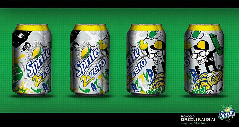 """""""Refresque suas ideias"""" - Sprite 2011"""