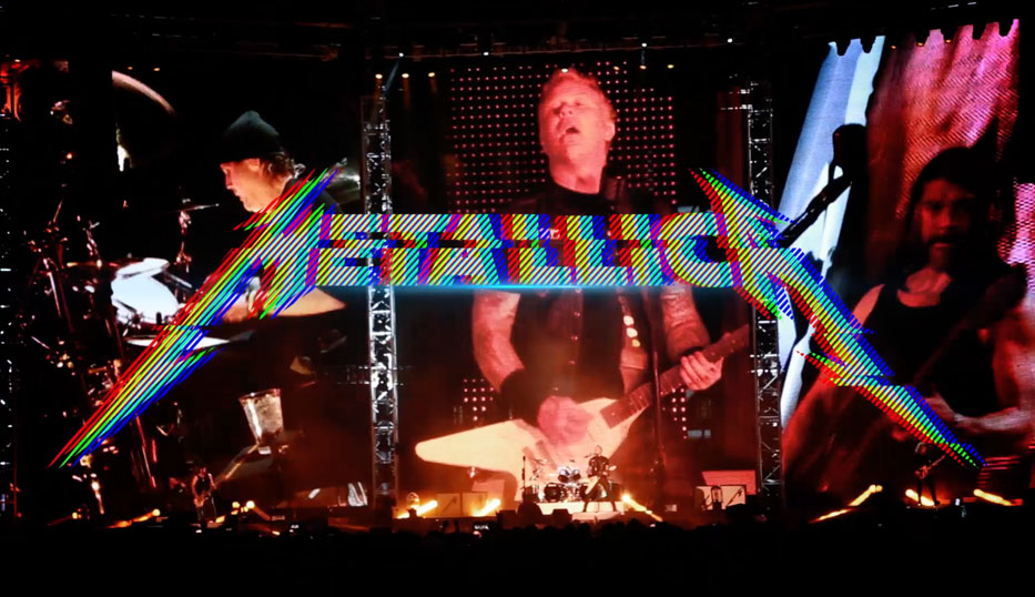METALLICA ON BRASIL